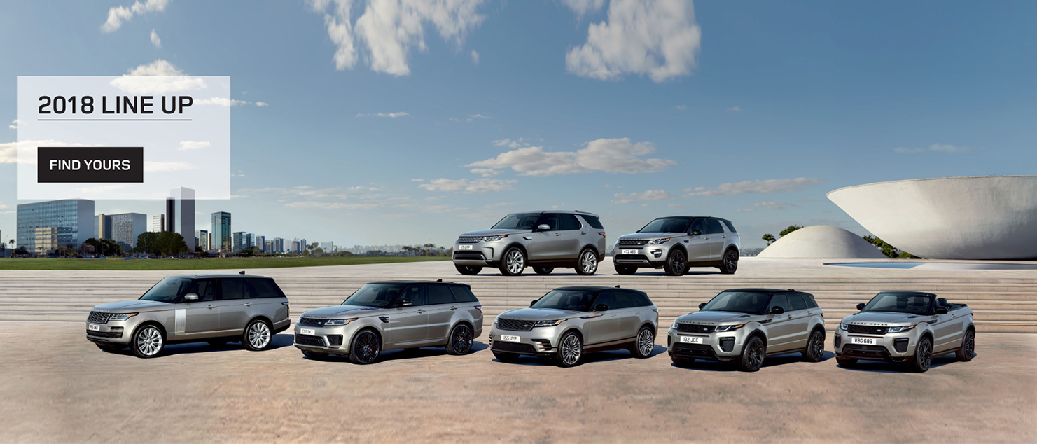 The 2018 Line Up of Land Rover Range Rovers and Discovery's